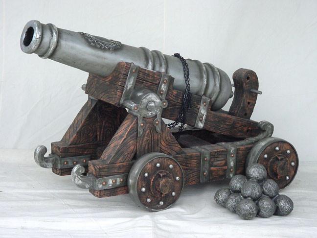 Piraten Kanon met Onderstel