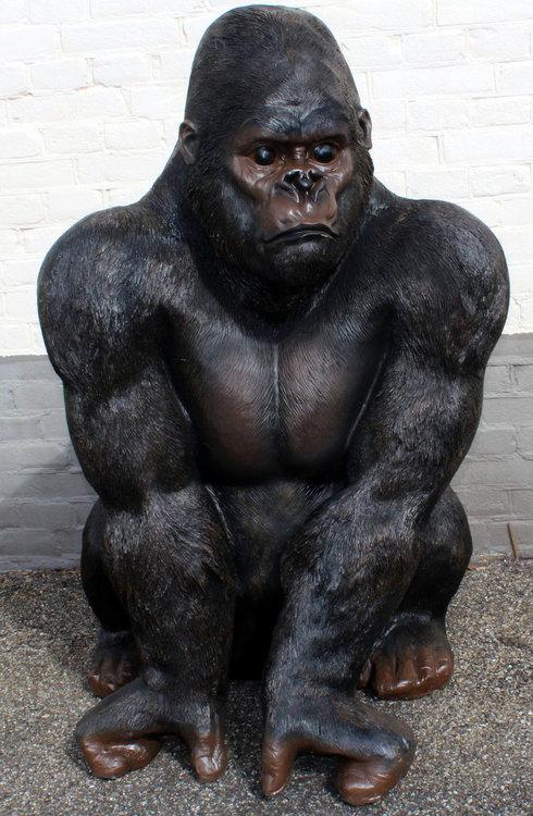 Aap Gorilla Zittend 100cm -Junglebook