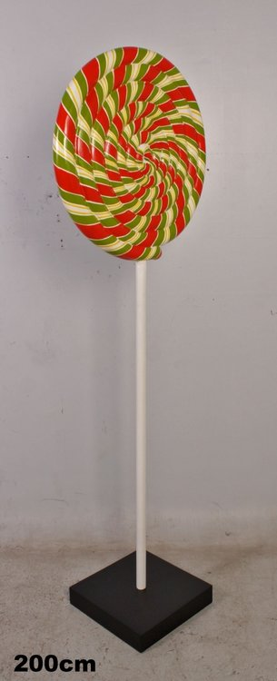 Lolly  op afneembare voet 200cm