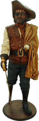 Piraat Captain Hook 190cm