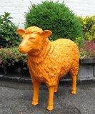 schaap-kunst-beeld 80cm -oranje_