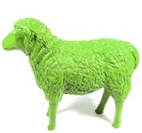 schaap polyester beeld 80 cm groen