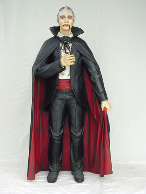 Beeld Dracula 197cm Polyester €449,=