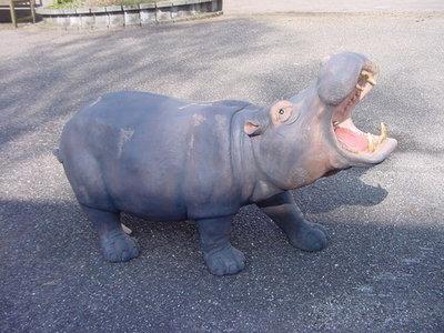 Nijlpaard Hippo Decoratiebeeld