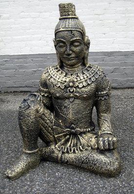 Anchor Boeddha beeld 70cm gebronsd