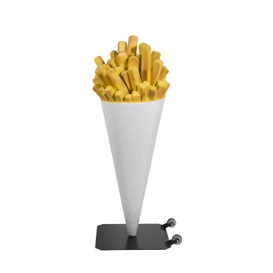 FRIETZAK  PATAT FRIET GROOT -WIT-  €559