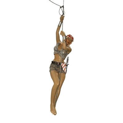 Piraat Beeld  Lady aan touw 169cm
