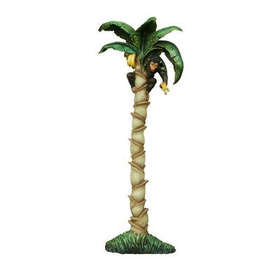 Aap Bananenboom wanddecoratie polyester 225cm€409