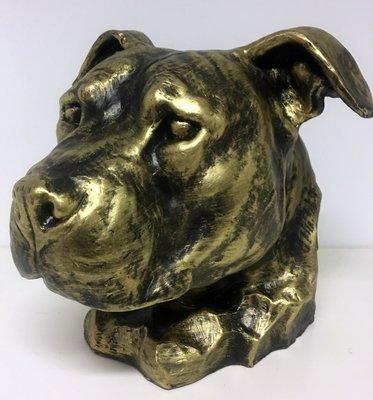 Stafford decoratie beeld  Gebronsd urn