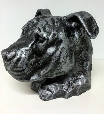 Stafford decoratie beeld  oud zilver