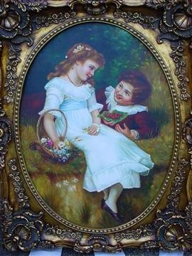 schilderij olieverf 145x118cm