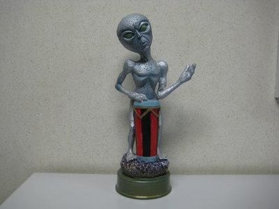 Alien met Led verlichting  35cm