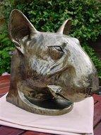 pitbull terrier-beeld-polyester
