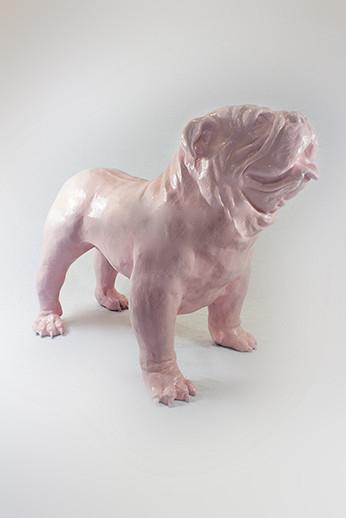 engelse bulldog Spike Rosa