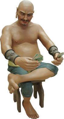 Pirate Moreno met kruk 160cm