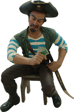 Piraat Pedro  165cm