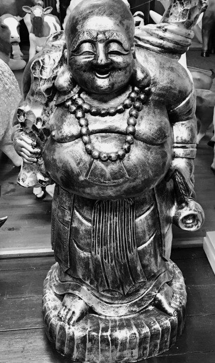 Boeddha happy boedha reizende boeddha