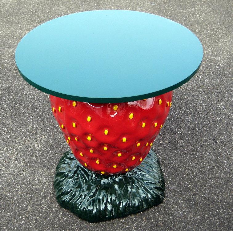 aardbei tafel polyester