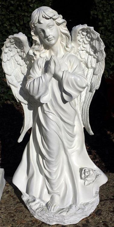 engel handen gevouwen 80 cm polyester