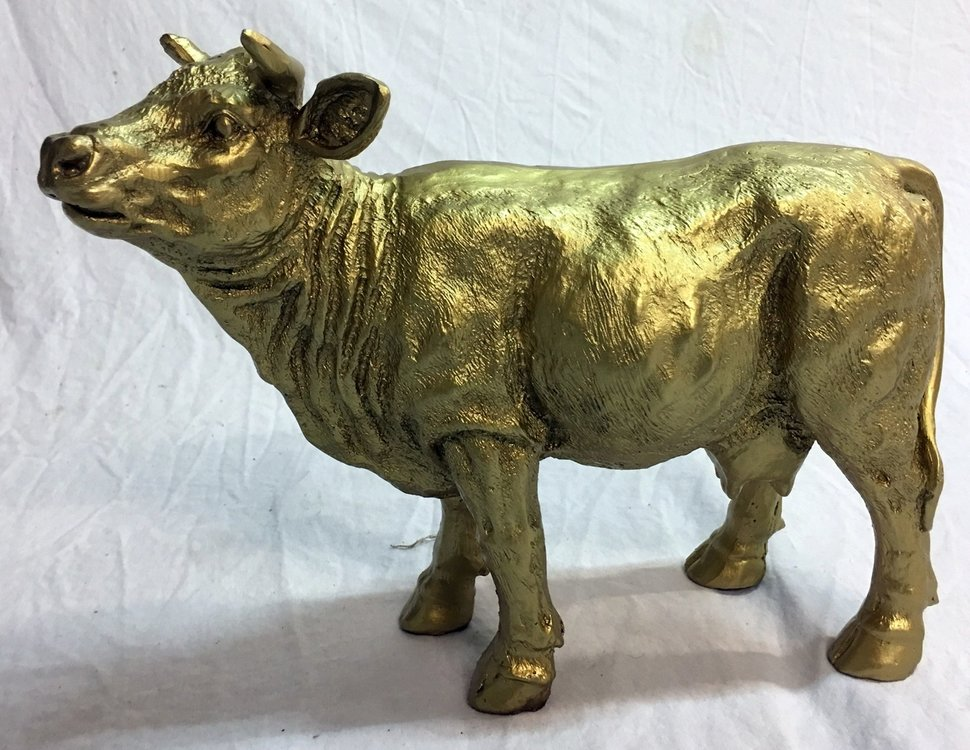 Koe mini koe beeldje