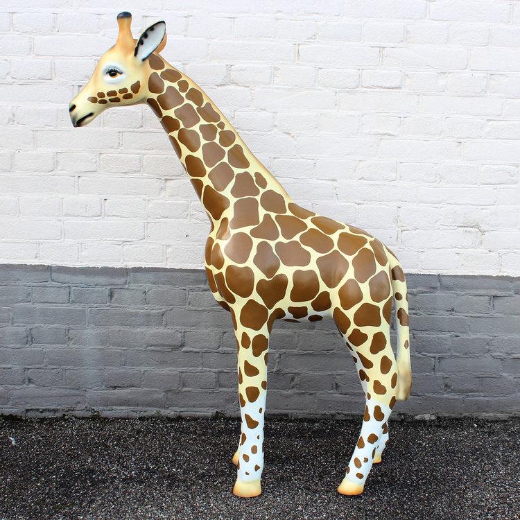 Giraffe 110cm - beeld-