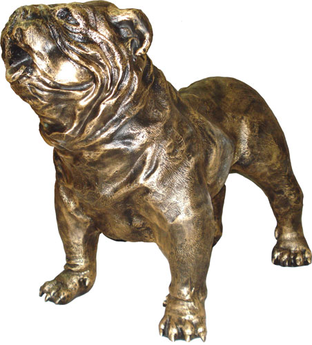 Engelse Bulldog - gebronsd