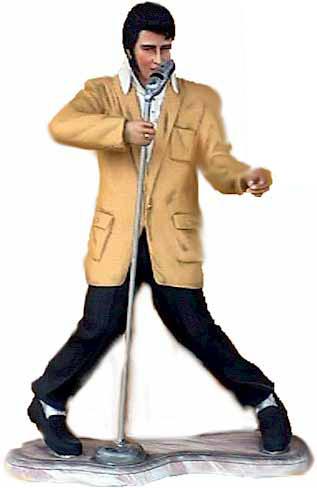 Elvis Beeld LiveSize 185cm