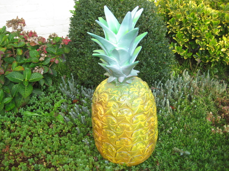 Ananas   polyester fruit beeld 53,70