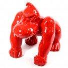 aap Kong kunst beeld rood
