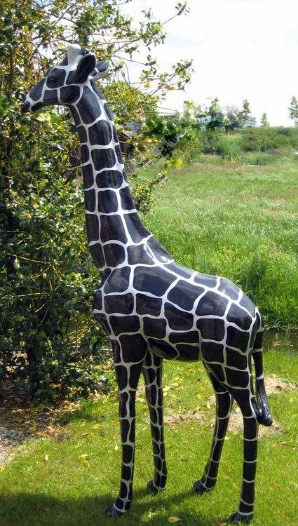 Giraffe 210cm -kunst beeld- Silverline design handwerk