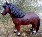 shetland pony polyester