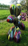 ballon dog xxxl polyester kunststof