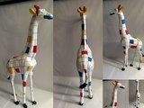 giraffe mondriaan design