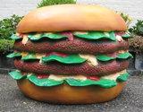 hamburger polyester