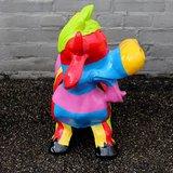 happy cow kunst beeld bohemian