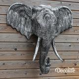 olifant kop old zilver