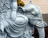 yin ride elephant boeddhabeeld betonlook