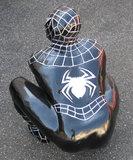 spiderman beeld polyester