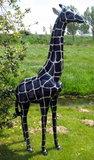 Giraffe 205cm -kunst beeld-silverline