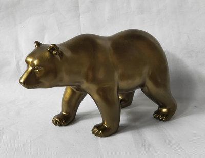 beer beeld Gouden beer