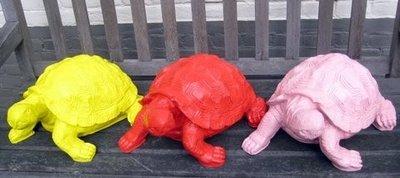 schildpad polyester kleur 30cm