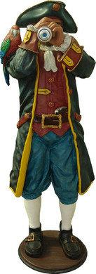Piraat Beeld Captain Paruche 195cm