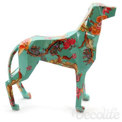 Lowpoly dog - design uitvoering
