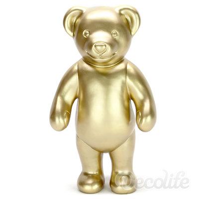 Teddybeer - Paddy staand - goud