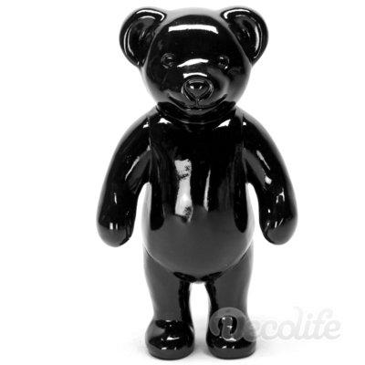 Teddybeer -Paddy staand -zwart