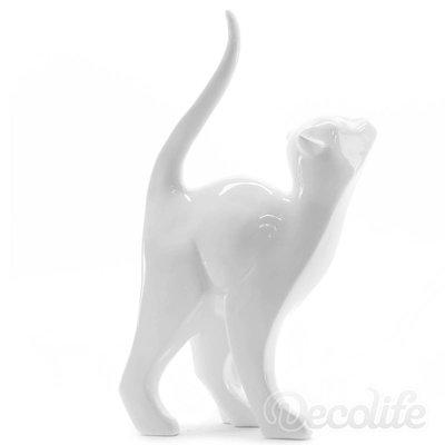 Katten beeld - wit