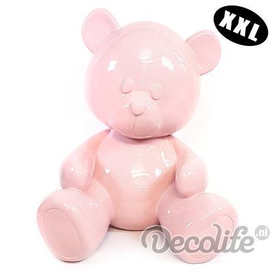Teddybeer XXL - my belle - roze