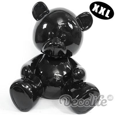 Teddybeer XXL - my belle - zwart