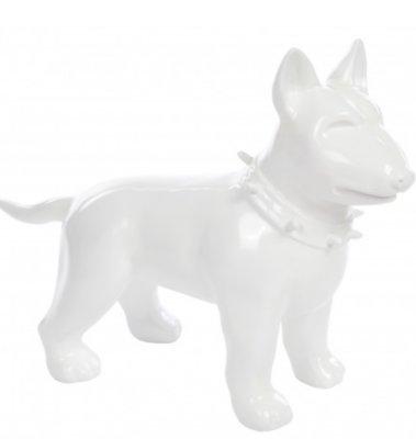 Bull terrier -Design-beeld-kunsthars 60cm