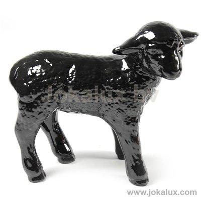 Schaap Beeld Lam 30cm zwart